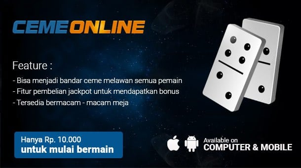 Daftar Ceme Online Dengan Uang Asli